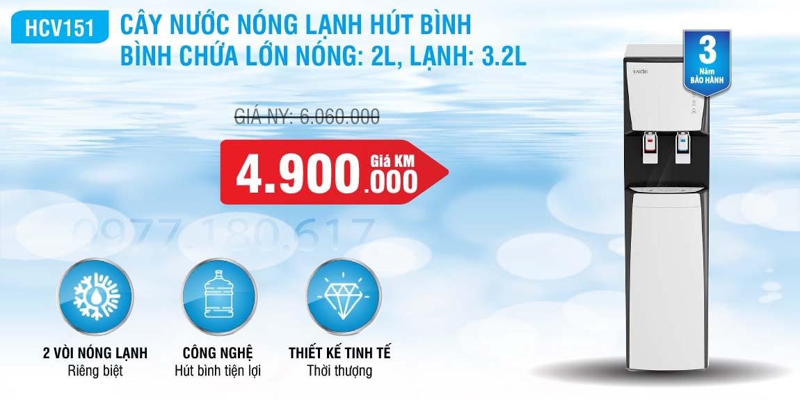 cay-nuoc-nong-lanh-hut-binh-Karofi-HCV151-WH-01