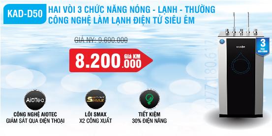 may-loc-nuoc-karofi-D50-nong-lanh-thuong